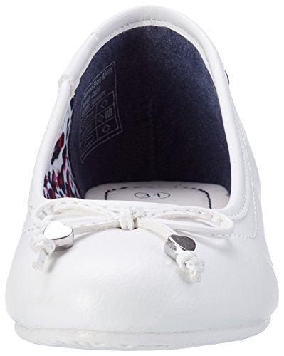 Tom Tailor 2772001, Ballerines fille Weiß (white)