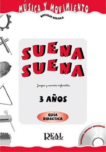 HUIDOBRO y VELILLA - Suena Suena 3 Años (Profesor) (Fichas y CD)...