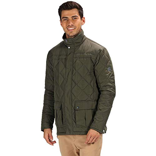 Hombre Regatta Lachlan Water Repellent and Insulated Quilted Outdoor Chaqueta