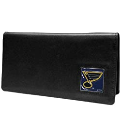 NHL St. Louis Blues Executive Genuine Leather Checkbook Cover