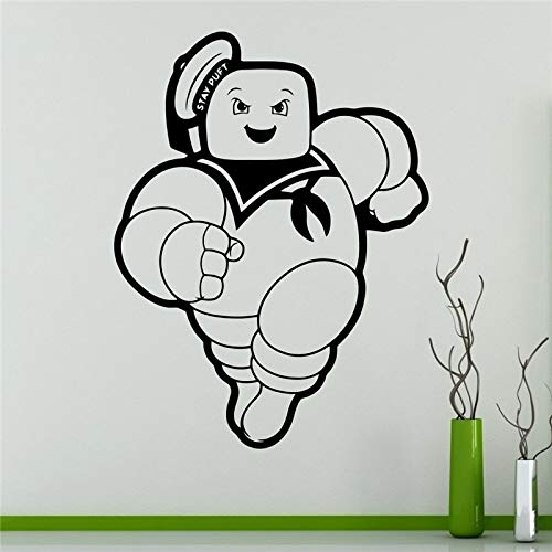 wandaufkleber Ghostbusters Stay Puft Animationsserie Cartoons Home Interior (Puft Ghostbusters)
