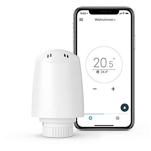 Plugwise Tom - Intelligenteste Heizkörpertaste - Einzigartige Heizzonensteuerung - Smart Thermostat