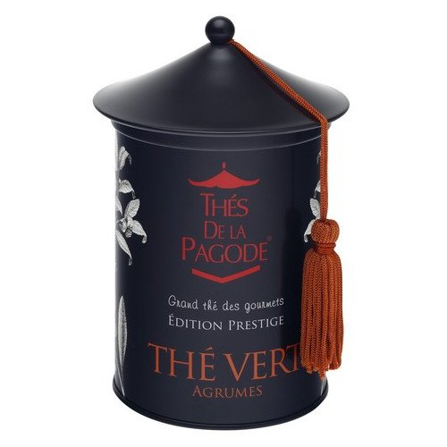 Thes De La Pagode - Gourmet Teas - Thes Vert Agrumes - 100g (Case of 20)