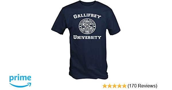 6 TEE NINERS University of Gallifrey T Shirt