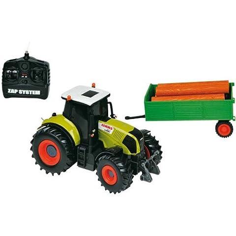 ferngesteuerter Traktor R/C Funktraktor Claas Axion 850 mit Anhänger