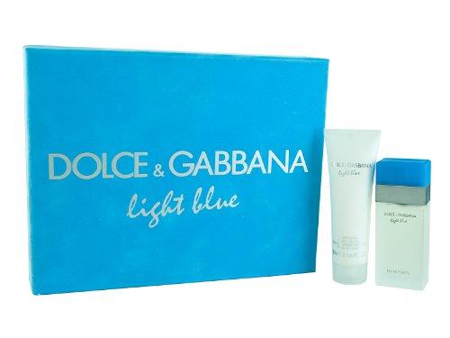 Gabbana Body Cream (Dolce & Gabbana Ligh Blue, femme/woman, Geschenkset (Eau de Toilette, 25 ml + Body Cream, 50 ml))