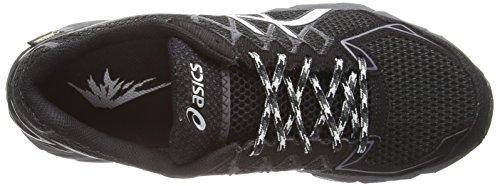 Asics Gel-fujitrabuco 4 G-tx, Chaussures de Trail Homme Noir (black/silver/dark grey 9093)