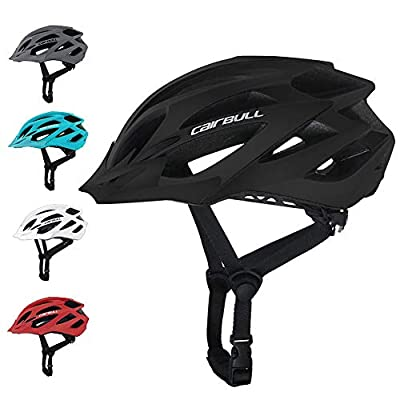 terferein Men's Women's Bicycle Helmets-Mountain Bike Helmet With Sporty And Compact, Built With 20 Large Vents,Safety Protection Comfortable Lightweight,Removable Visor,for Adult Men Women from terferein