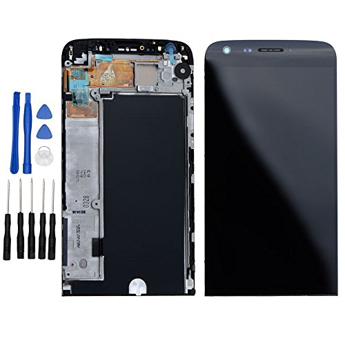 ixuan LG G5 H850 H820 H830 H831 LS992 LCD Display Touchscreen Assembly Rahmen Komplett Ersatz (Schwarz) Touch Screen Assembly