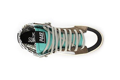 P448 Skate, Stivali uomo Multicolore