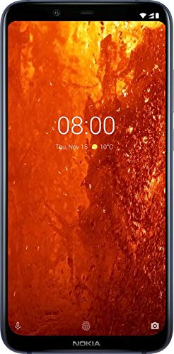 Nokia 8.1, blu Display 6.4