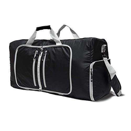 MUTANG Borsa a tracolla in nylon resistente all'acqua per borsa sportiva da viaggio borsa da viaggio con tracolla sportiva