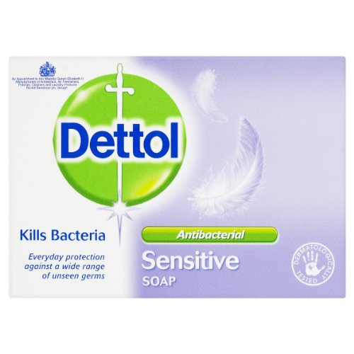 Dettol Bar Soap Sensitive 100g Pack of 6