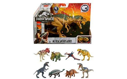 Mattel- Jurasic World Dino Sonidos 30 Cm, (FMM23)