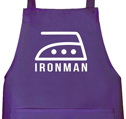 Camiseta street24, Ironman, Grillen Barbecue Grill-Delantal
