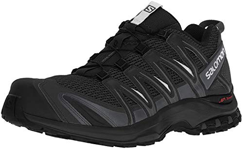 Salomon XA Pro 3D, Zapatillas de Trail Running para Hombre, Negro Black/Magnet/Quiet Shade, 45 1/3...