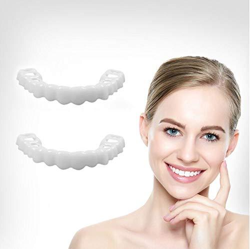 Zähne Aufhellung Zähne Schnappen Kosmetische Prothese Falsche Zähne -