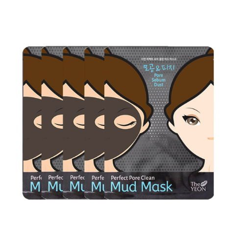 (3 Pack) THE YEON Perfect Pore Clean Mud Mask Pack of 5