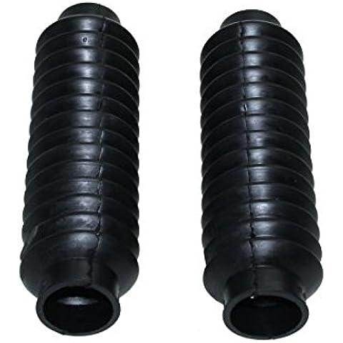 Fuelle, gomas Negro para Kreidler RS, RMC, LF, LH, RM, tenedor Fuelle