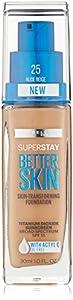 Maybelline New York Superstay Better Skin Foundation - Nude Beige