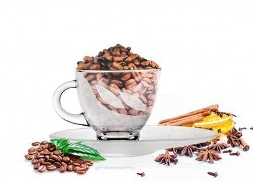 Sendez Cappuccinotasse 230ml mit Unterteller Kaffeetasse Teetasse Kaffeeglas (Milchglas)