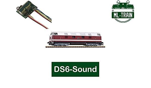 ML-Train 80609205 Soundmodul SX6 V160 DB Diesellok DS6 Spur-G für Piko NEU