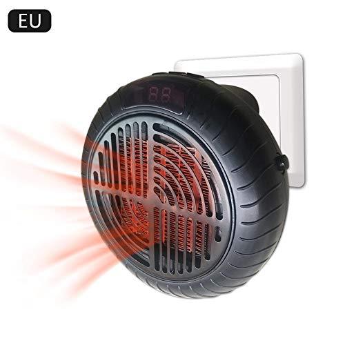 900 Watt Mini Keramik Raumheizung, Plug-in Persönliche Heizung Tragbare Thermostat Elektrische Heizlüfter mit Timer Für Persönliche Küche Büro hause