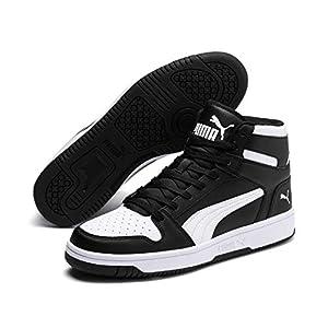Puma Unisex-Erwachsene Rebound Layup SL Sneaker, Black White 01, 8 EU