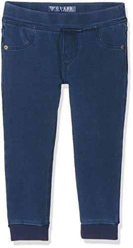 Guess Baby-Mädchen Jeans Denim Core, Mehrfarbig (Stone Wash), Neonato (Herstellergröße: 4) (Guess Baby Jeans)
