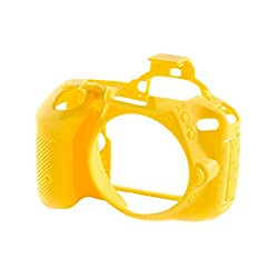 EasyCover ECND5500Y Camera Case for Nikon D5500 Cameras (Yellow)