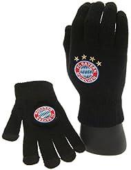 FC Bayern München Touch Gants en tricot avec logo du Bayern de Munich- Taille S