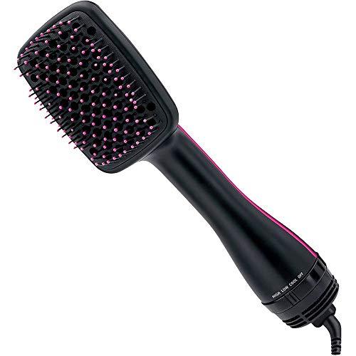 Cepillo Para Peinar Con Aire Caliente, Secador De Cabello One Step Colección Ionico Salon Big Hair Pro Volumiser Ceramic 1000W 2 En 1