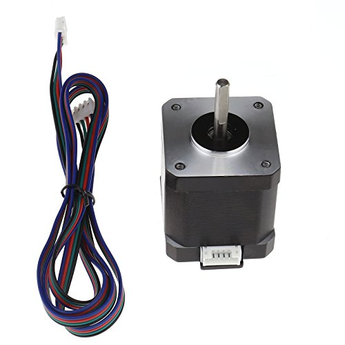 59Ncm Nema 17 Stepper Motor 1m Cable 3D Pinter Reprap CNC Robot (84oz.in)