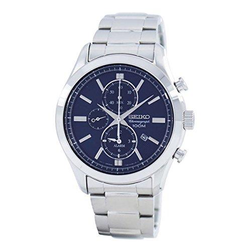 Seiko Herren-Armbanduhr SNAF65P1 (Seiko Uhr Silber-herren)