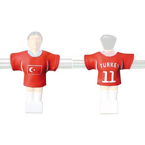 Kicker Trikot Tischfussball Zubehör Trikot-Set Türkei