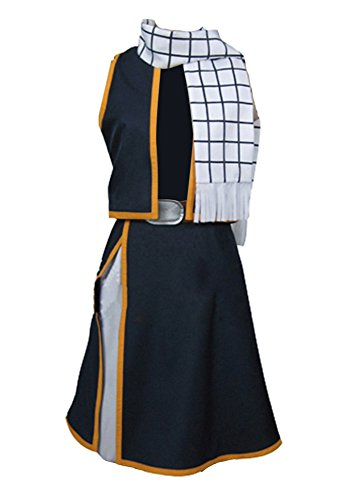 Fairy Tail Natsu Dragneel Cosplay Kostüm Herren L (Fairy Tail Kostüme Für Erwachsene)