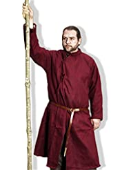 Chaqueta Siglo X, Chaqueta medieval para Caballeros, Ropa medieval, Vestimenta de Cruzado, Recreación histórica, Rol en vivo, Traje medieval