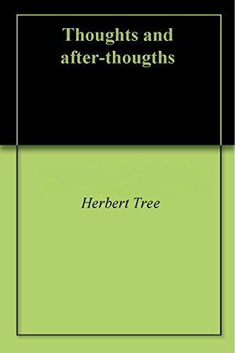 thoughts-and-after-thougths-english-edition