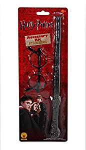 Harry Potter Wand + Glasses Boys Fancy Dress Book Week Kids Childrens Costume