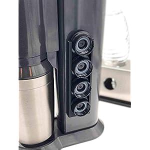 4er Halterung für die Deckel z.B. von Sodastream Crystal Flaschen, Klebebefestigung, Soda Stream Deckelhalter