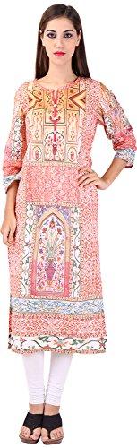 Only Colours Women's Cotton Regular Fit Kurta