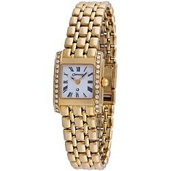 Orphelia mon-7020 - Reloj analógico de cuarzo para mujer, correa de dorado color dorado