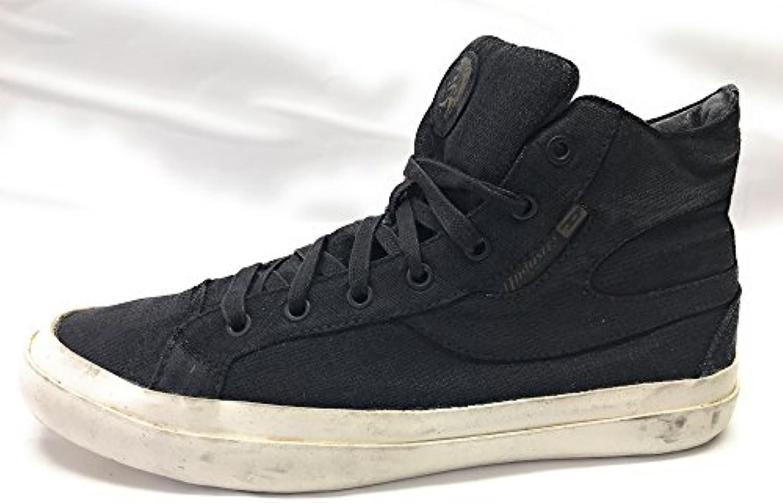 Diesel S Kwaartzz Herren High Sneaker  Schwarz  Canvas  Gr.43