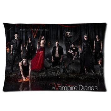 fashion-fundas-de-almohada-the-vampire-diaries-serie-de-television-dos-lados-rectangulo-funda-de-alm