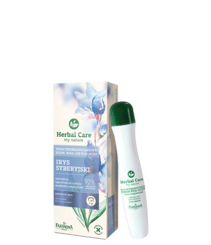 FARMONA HERBAL CARE Irys Antifalten Lifting Augen Roll On mit Kühleffekt 15 ml