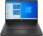HP 14 (2021) Thin & Light Intel Celeron N4500 Laptop with Alexa Built-in, 8GB RAM, 256GB SSD, 14-inch HD S