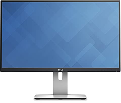 DELL U2515H ADZG 25-Inch LCD Monitor, 350 cd/m2, 2560 x 1440 at 60 Hz, IPS, (Dell Monitor)