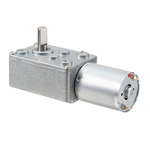DC 24V 1.2rpm Output Speed 6mm Schaft Elektrische Power Gear Box Motor 24v Power Box