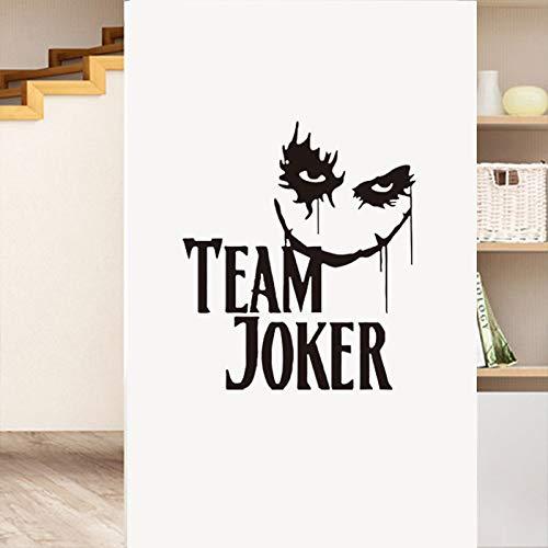 WSJIABIN WandaufkleberHalloween Serie wandaufkleber Thriller Clown schnitzen wandaufkleber Geist Dekoration Fenster Hintergrund 50X57 cm