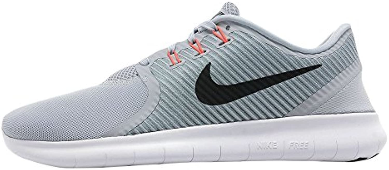 Nike Herren Free RN CMTR Laufschuhe  Grau/Schwarz